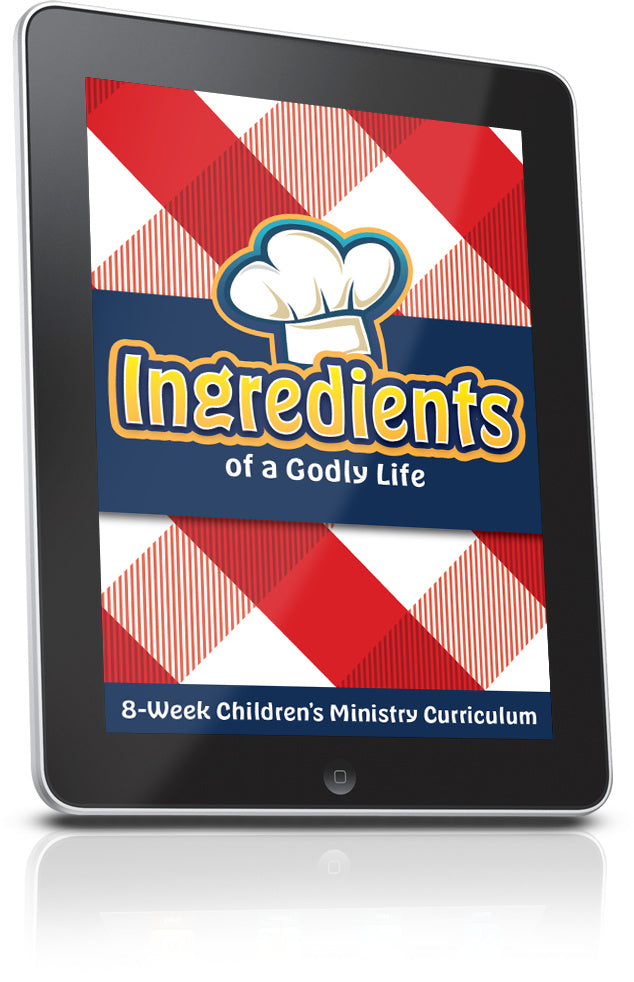 Ingredients of a Godly Life Sunday School Lesson