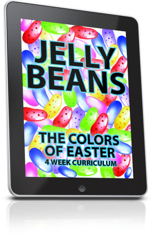 FREE Jelly Beans Children's Ministry Lesson