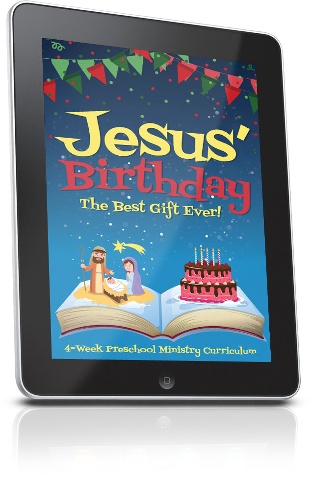 Jesus' Birthday Sunday School Lesson