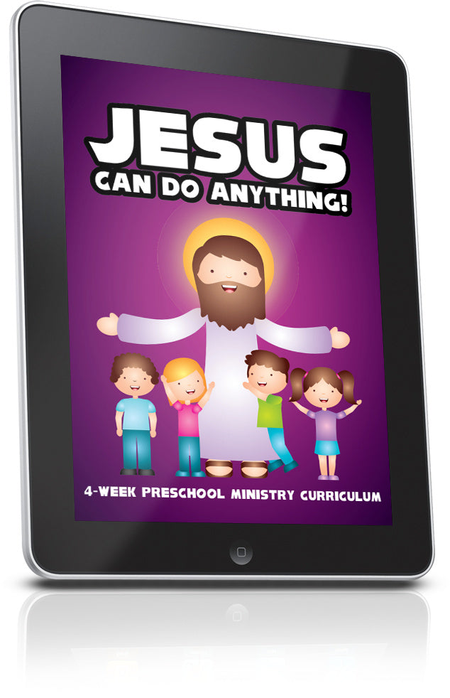 FREE Jesus Can Do Anything Sunday School Lesson