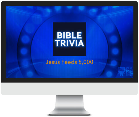 Jesus Feeds 5,000 Bible Trivia Game for Kids