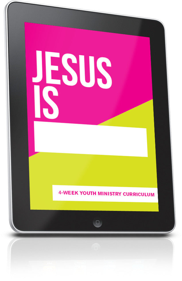 FREE Jesus Is Youth Ministry Lesson