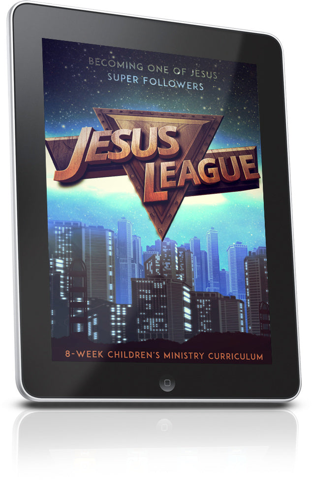 FREE Jesus League Children's Ministry Lesson