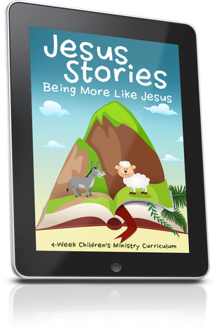 FREE Jesus Stories Preschool Ministry Lesson