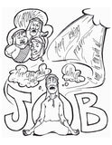 Job Coloring Page