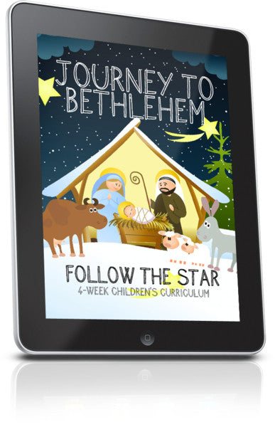 FREE Journey To Bethlehem Children's Ministry Lesson
