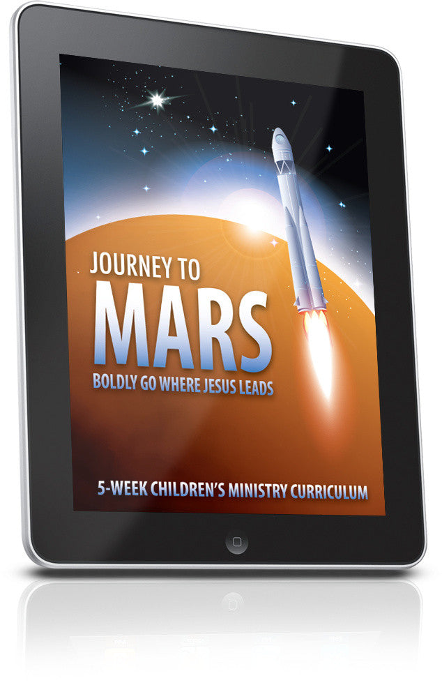 FREE Journey To Mars Children's Ministry Lesson