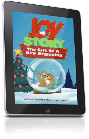 Joy Story Children's Ministry Lesson