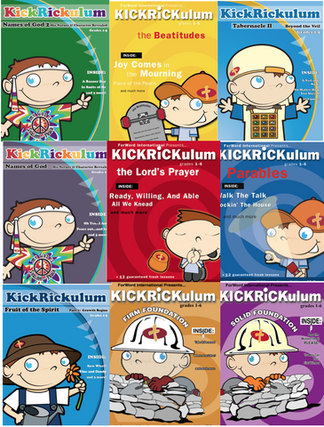 Kickrickulum Children's Ministry Curriculum Bundle