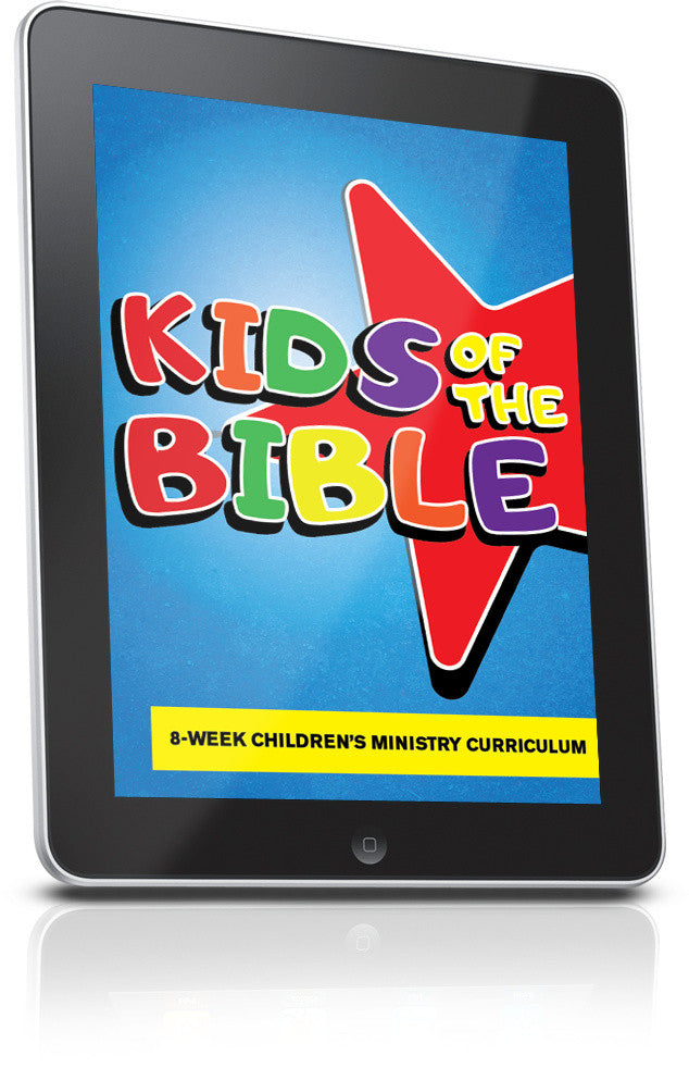 FREE Kids of the Bible Children's Ministry Lesson