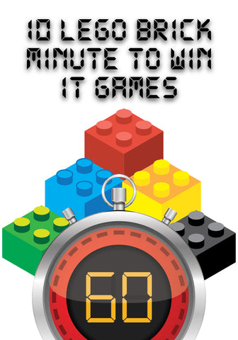 LEGO Themed Minute To Win It Games