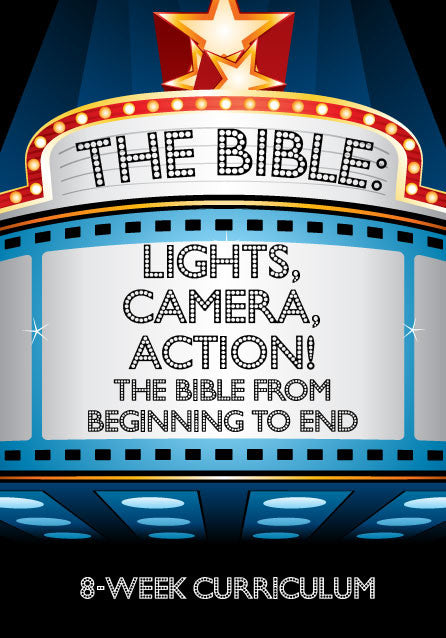 The Bible: Lights, Camera, Action Children's Curriculum