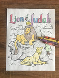 Lion of Judah Coloring Page