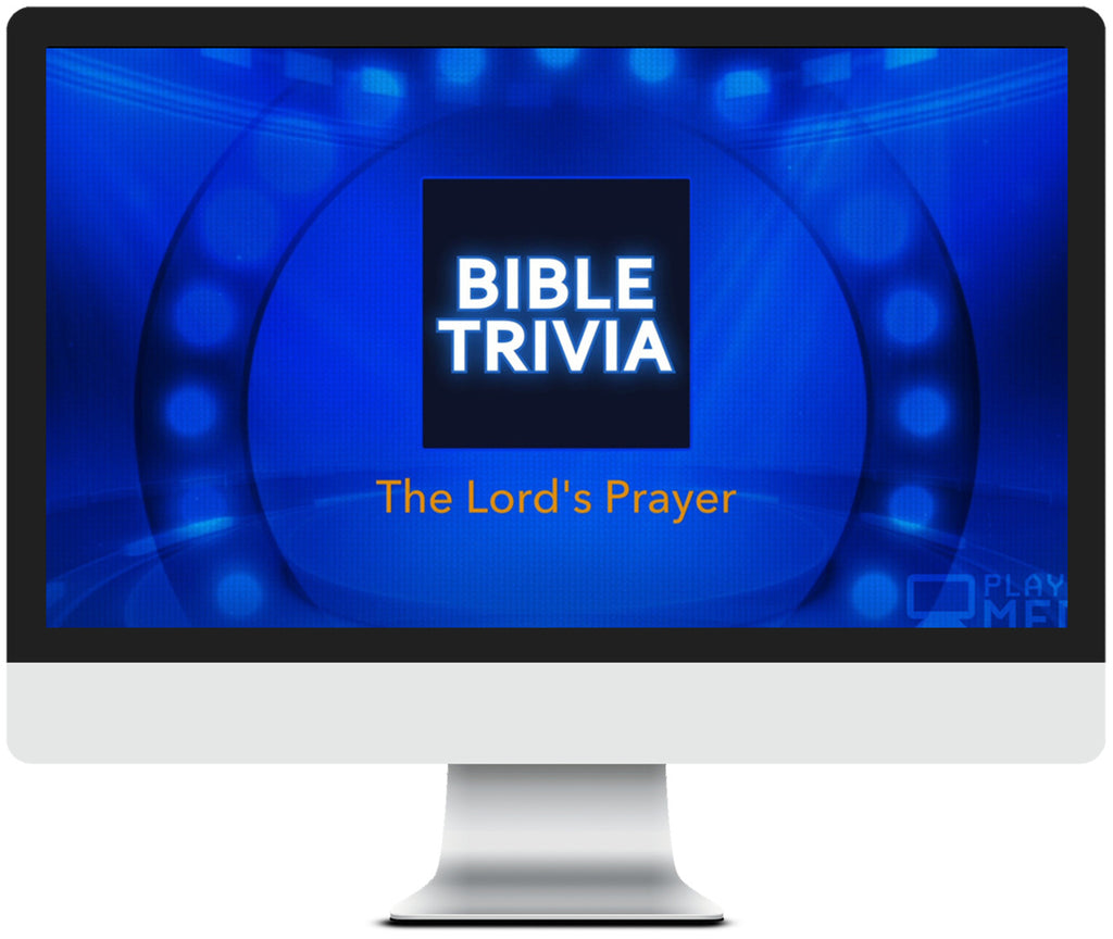 The Lord's Prayer Bible Trivia Game for Kids