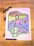 Lydia Coloring Page