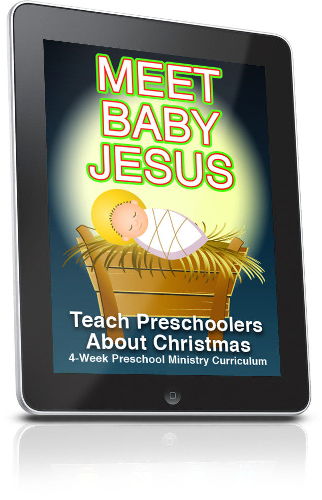 FREE Meet Baby Jesus Preschool Ministry Curriculum Lesson