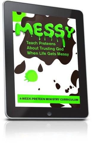 FREE Messy Preteen Ministry Lesson