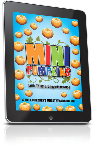 FREE Mini Pumpkins Children's Ministry Lesson