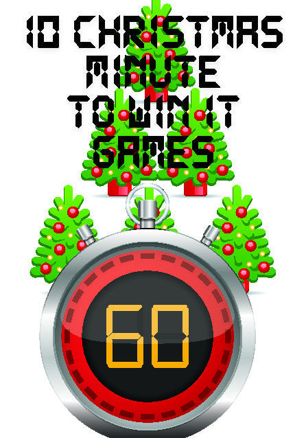 10 Christmas Minute to Win It Games