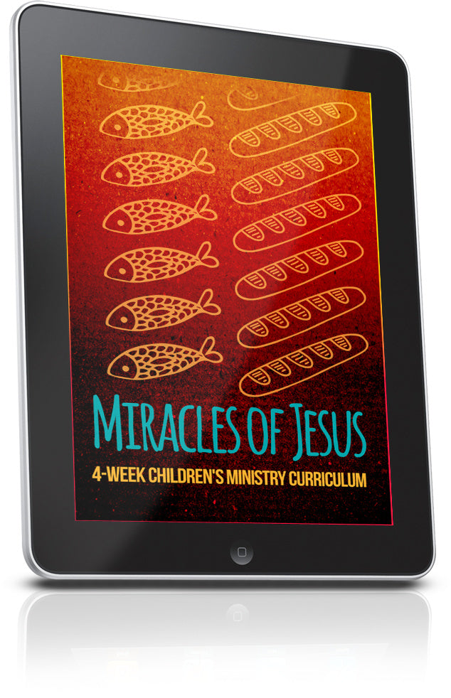 FREE Miracles of Jesus Children's Ministry Lesson