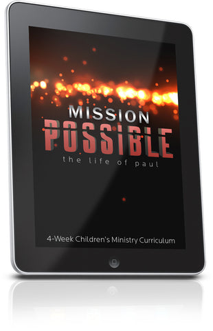 FREE Mission Possible Children's Ministry Lesson