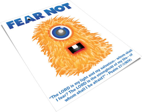 Fear Not Printable Poster For Kids