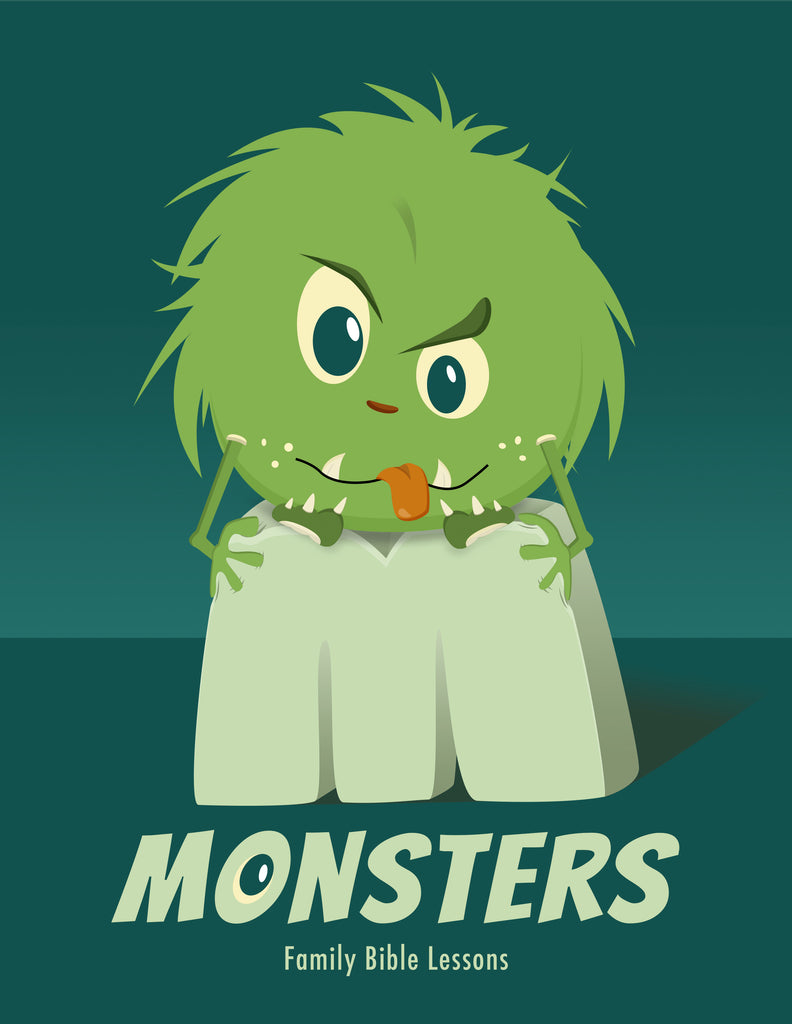 Monsters Family Bible Lessons