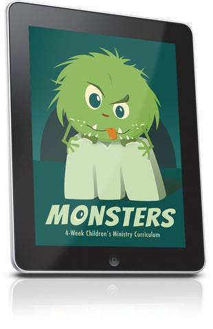 FREE Monsters Children's Ministry Lesson