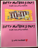 FREE Mother's Day M&Ms Card for Kids