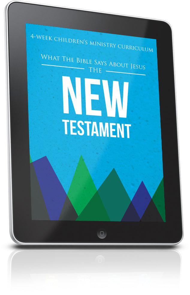 FREE New Testament Children's Ministry Lesson