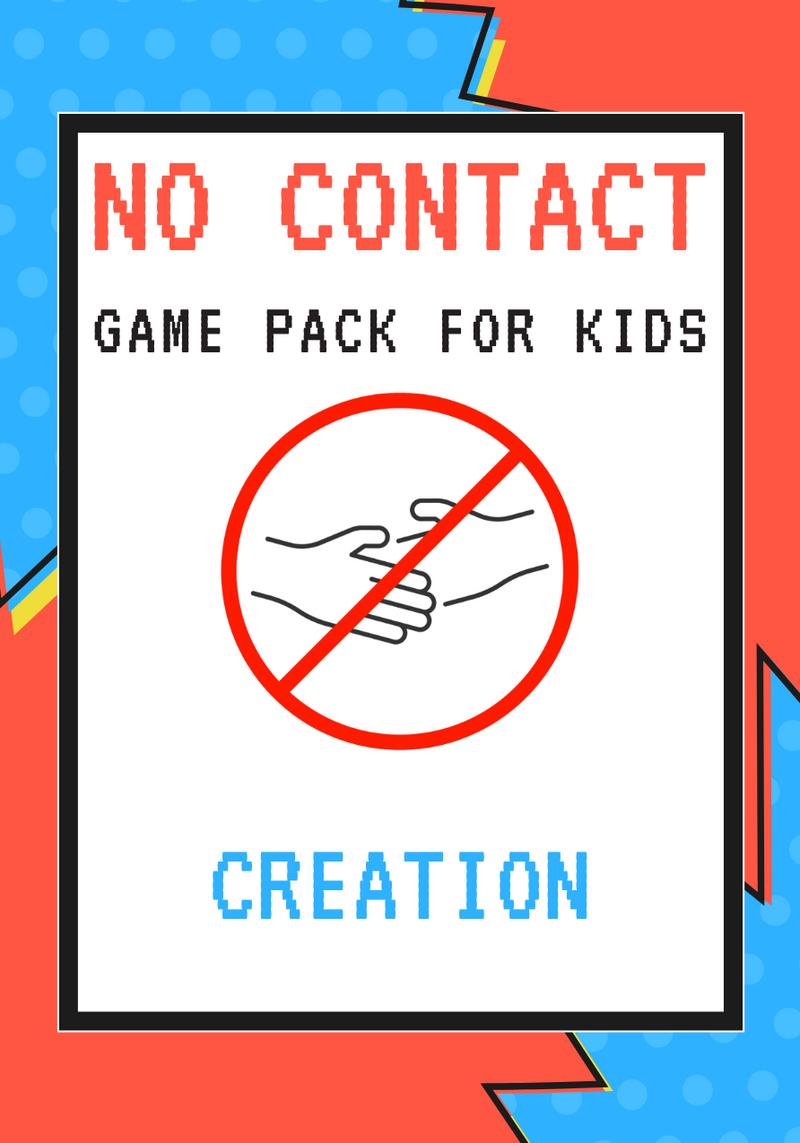 No-Contact Kids Church Game Pack: Creation