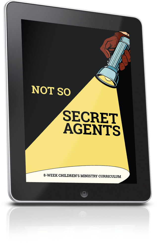 FREE Not So Secret Agents Sunday School Lesson
