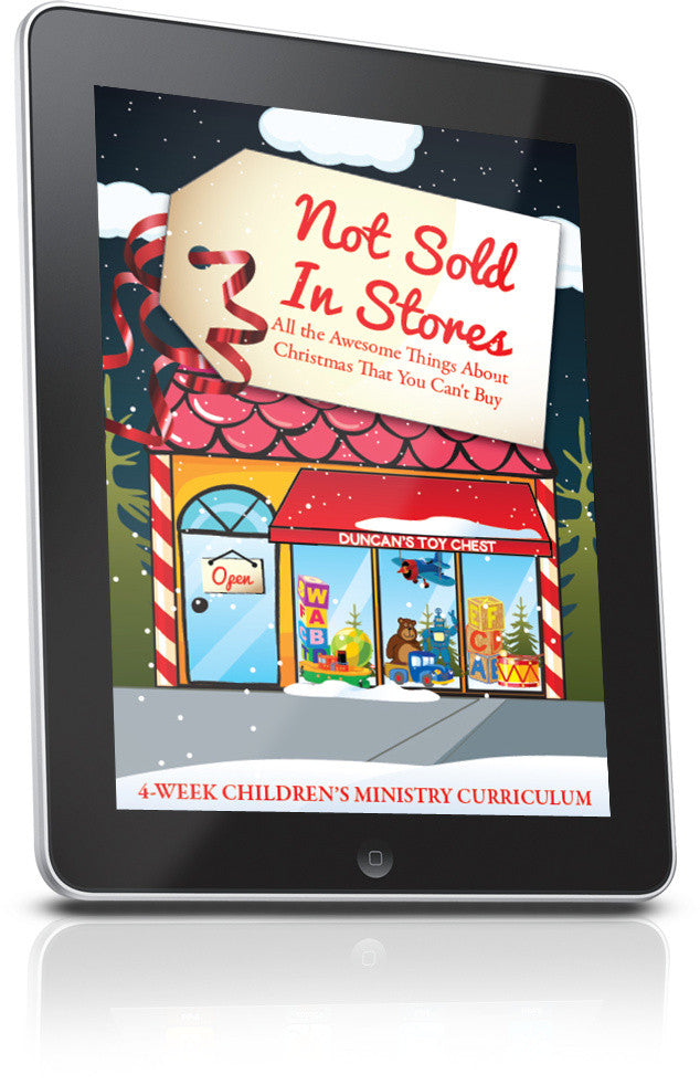 FREE Not Sold In Stores Children's Ministry Lesson