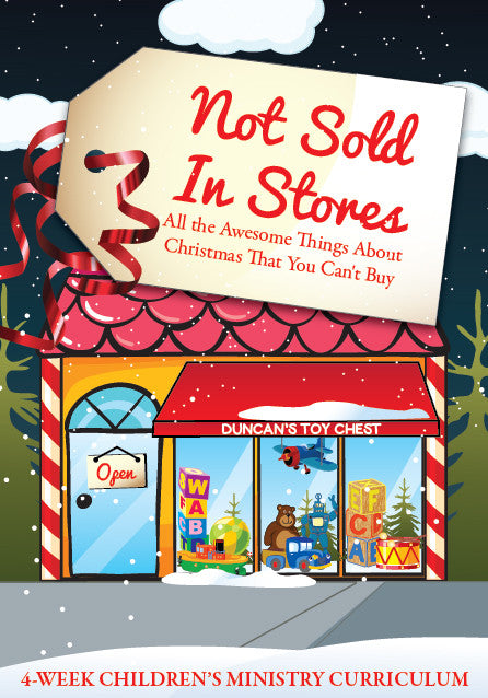 Not Sold In Stores 4-Week Children's Ministry Curriculum