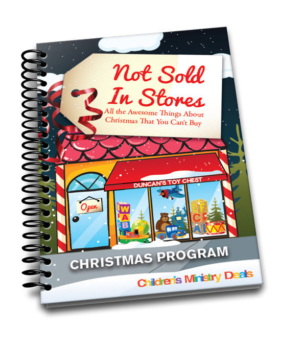 not sold in stores christmas program children s ministry deals