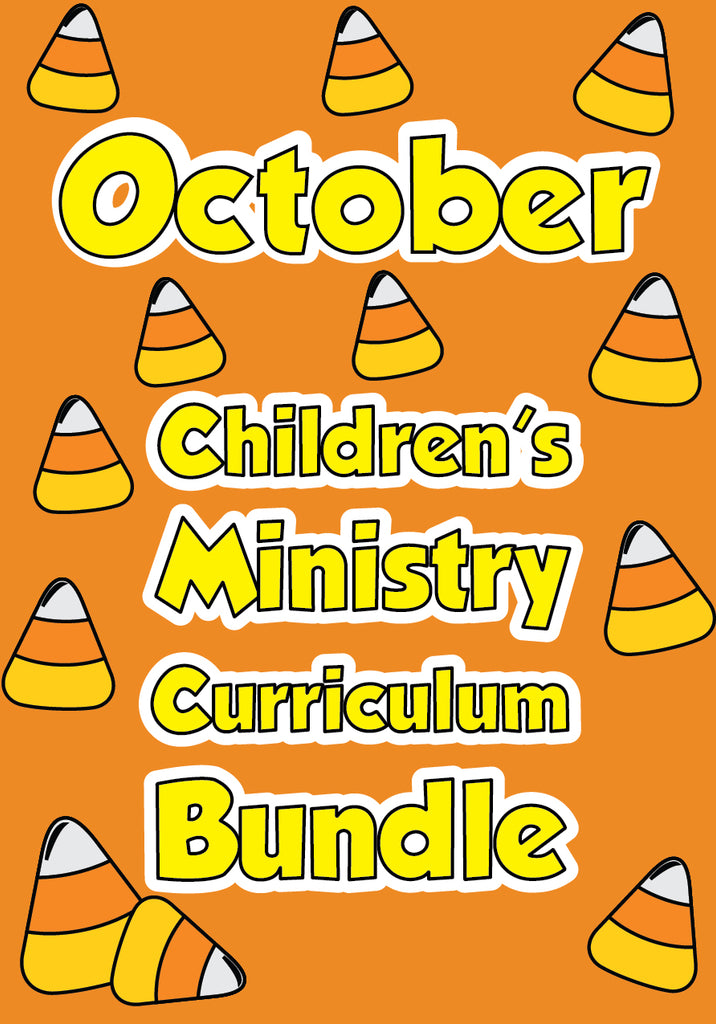 October Children's Ministry Curriculum Bundle