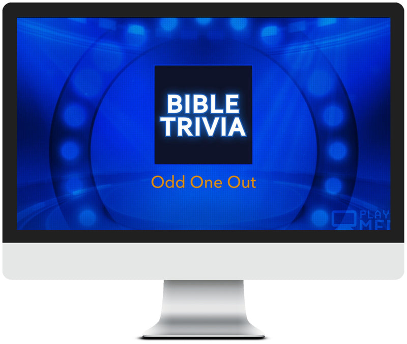 Odd One Out Bible Trivia Game for Kids