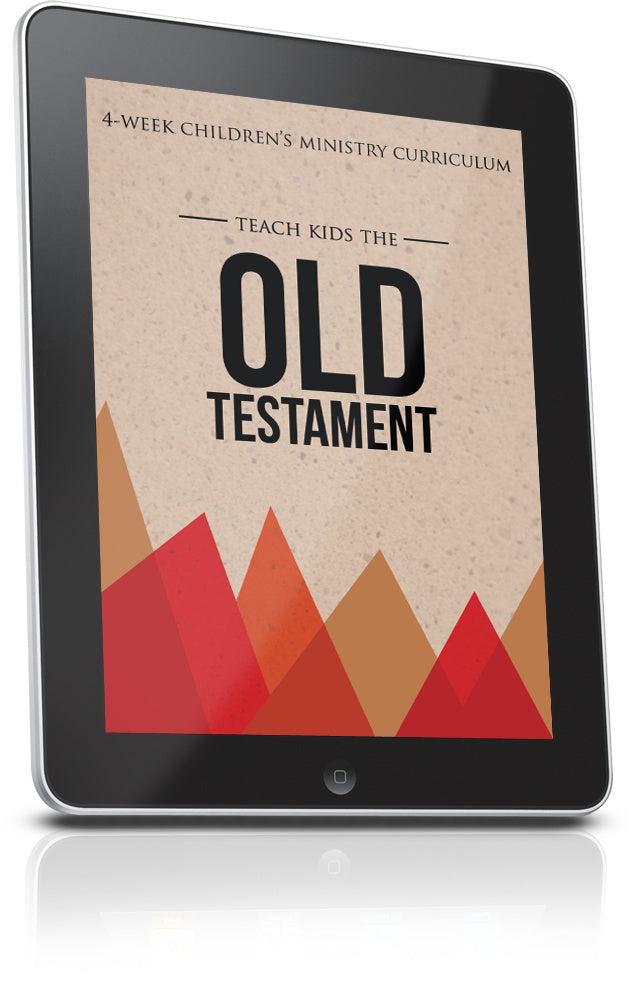 FREE Old Testament Children's Ministry Lesson