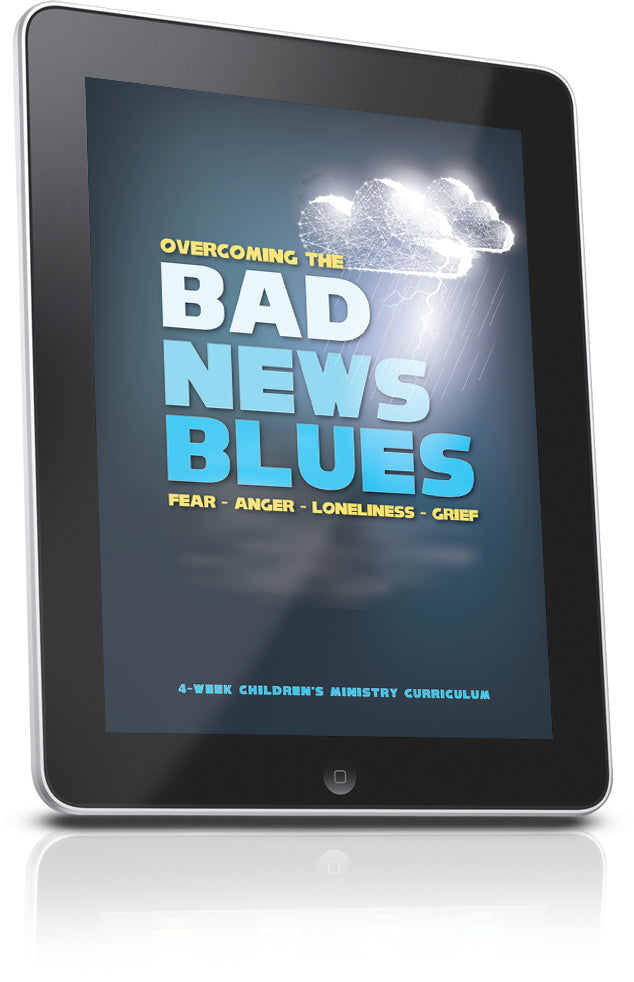 FREE Overcoming the Bad News Blues Sunday School Lesson