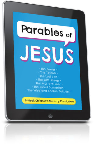 FREE Parables of Jesus Children's Ministry Lesson