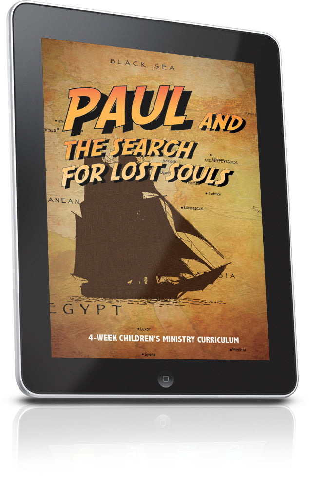 FREE Paul and the Search for the Lost Souls Sunday School Lesson