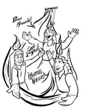 Pentecost Coloring Page