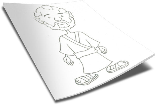 FREE Peter Coloring Page