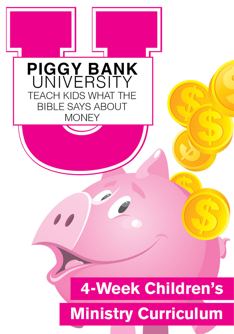 Piggy Bank University Curriculum – Children\'s Ministry Deals