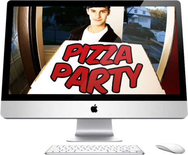 Pizza Party Children's Church Graphic