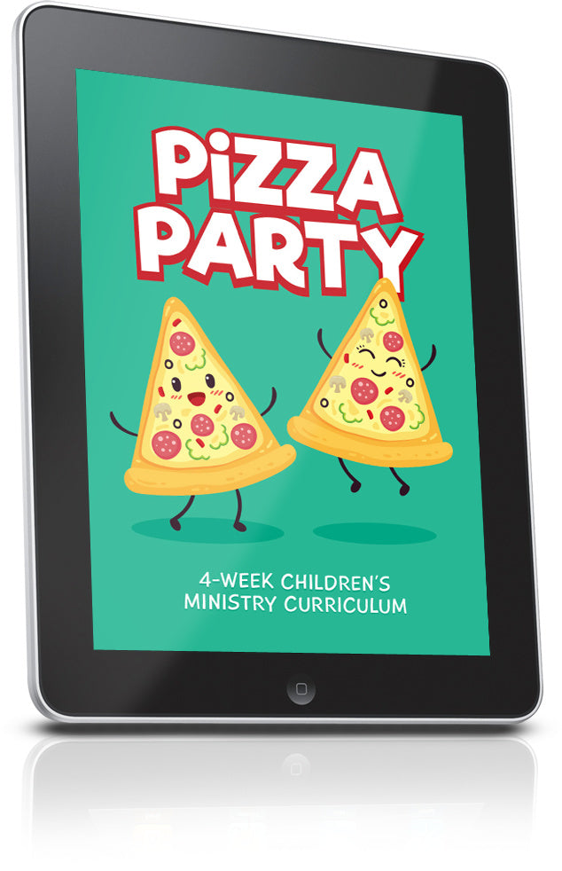 FREE Pizza Party Children's Ministry Lesson