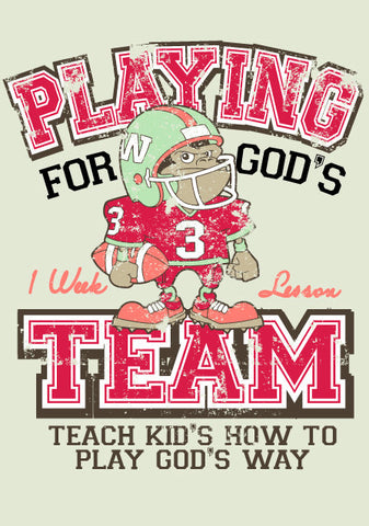 Super Bowl Sunday Children's Church Lesson