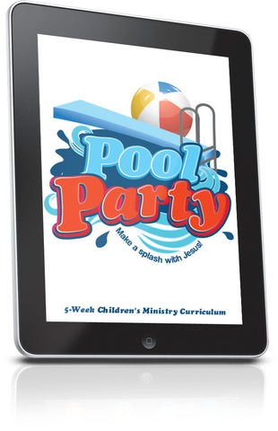 FREE Pool Party Children's Ministry Lesson