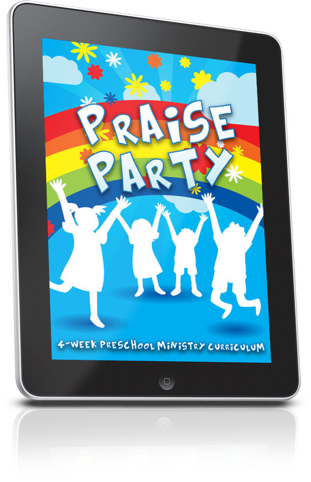 FREE Praise Party Preschool Ministry Curriculum Lesson