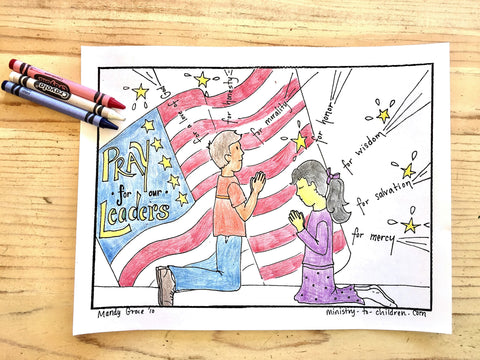 FREE 4th of July Coloring Page